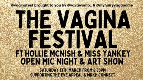Image for: The Vagina Festival, appuntamento on line