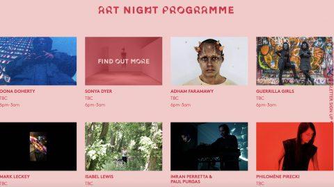 Image for: Art Night, questa estate l'arte sarà ovunque